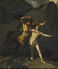 The Education of Achilles by the Centaur Chiron
