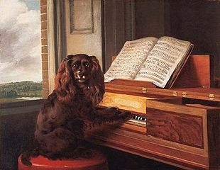 Portrait of an Extraordinary Musical Dog