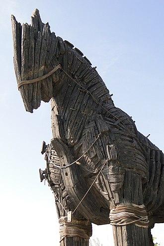 Trojan Horse - Trojan Horse - Canakkale Waterfront - Dardanelles - Turkey