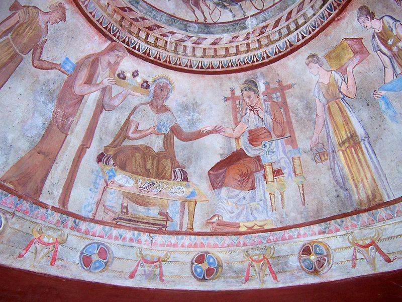 FileReproduction of Thracian tomb 1jpg
