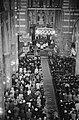Requiemmis voor oveleden Paus in de St. Jacobskerk in Den Haag . Overzicht van d, Bestanddeelnr 915-2539.jpg