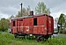Retired overhead line rail service vehicle in Sourbrodt train station (DSCF5823) Waimes, Belgium.jpg