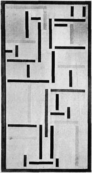 Rhythm of a Russian Dance by Theo van Doesburg (1920).jpg