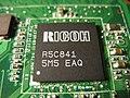 Ricoh R5C841 on ASUS A6Ja 20100707.jpg