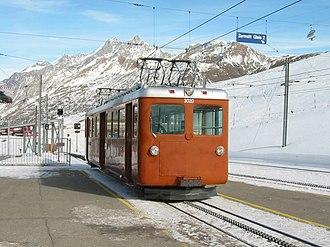 Gornergrat Railway - Image: Riffelberg station