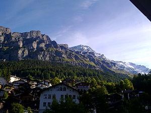 Leukerbad - Rinderhorn mountains