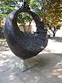 Ring sculpture detail, north, Béla Square, 2016 Szekszard.jpg