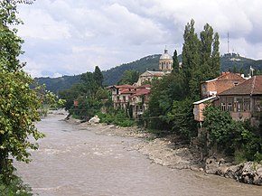 Rioni river in Kutaisi.jpg