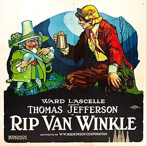 Rip Van Winkle (1921 film) - Lobby poster