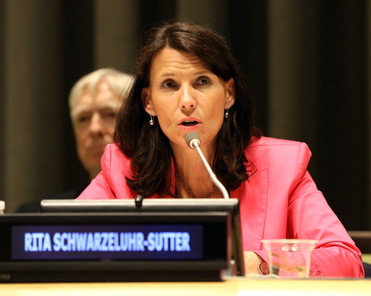 Rita Schwarzelühr Sutter