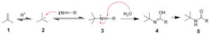 Ritter reaction - The mechanism of the Ritter reaction