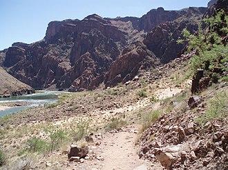 River Trail (Arizona) - Sand dunes along River Trail