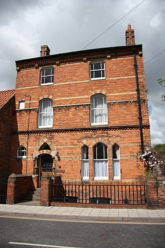 James Fowler (architect) - Riversmead, Louth by Fowler 1862