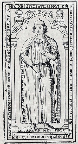Counts of Dreux - Image: Robert 3 count of dreux