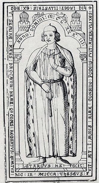 Counts of Dreux - Image: Robert 3 count of dreux