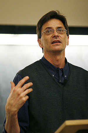 "Robert Jensen - Robert Jensen speaking at York University after ""The Heart of Whiteness"" was published."