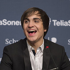 Roberto Bellarosa, ESC2013 press conference 02 (crop).jpg