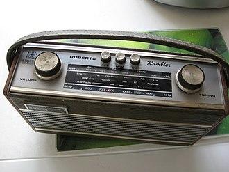 Roberts Radio - Image: Roberts Rambler radio (1960s)