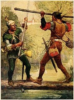 Robin Hood and Little John Child ballad