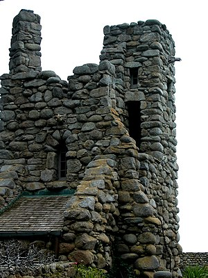 Robinson Jeffers Hawk Tower, Tor House, Carmel...