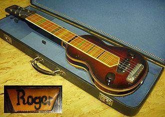 Roger Rossmeisl - Image: Roger Hawaii Gitarre