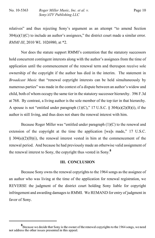 Page:Roger Miller Music v  Sony-ATV Publishing (2012) djvu/10