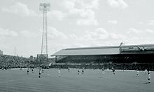 One of the stands of Sunderland's Roker Park ground