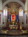 Rokitno, kościół par. p.w. Matki Boskiej Królowej Polski, 1746-1756 07.JPG