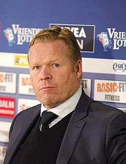 Ronald Koeman Dutch footballer and manager