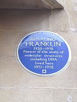 Rosalind Franklin Blue Plaque.jpg