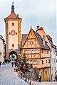Rothenburg ob der Tauber, Siebersturm, Plönlein 2-20151230-001.jpg