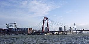 Nieuwe Maas - Nieuwe Maas in the heart of Rotterdam
