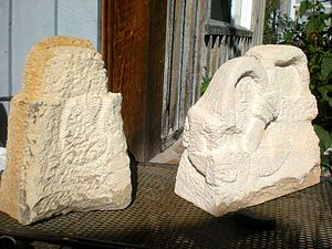 Stone sculpture - Roughed out carvings