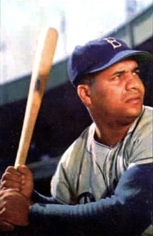 Roy Campanella Award - Roy Campanella, the namesake of the award, in about 1953.