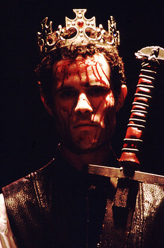 Edward III (play) - Edward the Black Prince (David Mendelsohn) in the American professional premiere of Edward III, staged by Pacific Repertory Theatre in August, 2001.