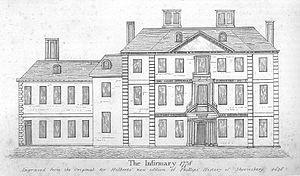 William Baker of Audlem - Royal Shropshire Infirmary. 1747