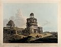 Ruins of the Kotla Firuz Shah, outside Delhi, India. Coloure Wellcome V0050466.jpg