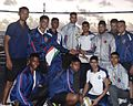 Runner-up Volleyball Championship during Visit of First Training Squadron to Seychelles during Overseas Deployment.JPG