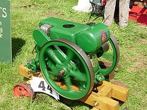Ruston (engine builder) - A 3hp Ruston engine type PB of 1935