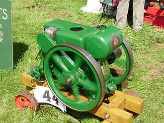 Ruston (engine builder) - A 3hp Ruston engine type PB of 1935