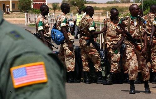 Rwanda UNMIS troops