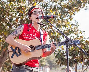 Ryan Cassata - Cassata performs at San Francisco Trans March 2015