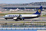 Ryanair, Boeing 737-8AS(WL), EI-DCO - MAD (19551133771).jpg