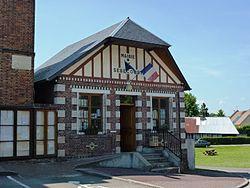 Sébécourt (Eure, Fr) mairie.JPG
