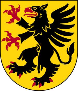 Södermanland County - Image: Södermanland länsvapen Riksarkivet Sverige