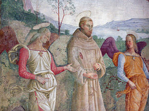 St. Francis receives the Stigmata (anonymous, ...