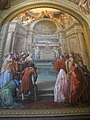 S.m. maddalena de' pazzi, cappella della beata bagnesi, affreschi di giuseppe servolini 01.JPG