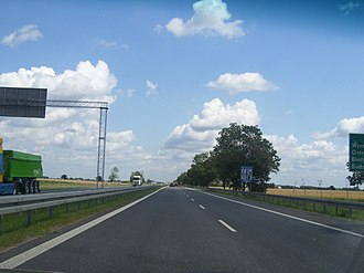 Expressway S8 (Poland) - Express road S8 between Radzymin and Wyszków