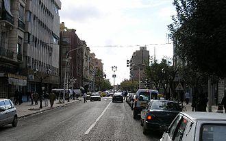 Sidi Bel Abbès - A Street in Sidi Bel Abbès