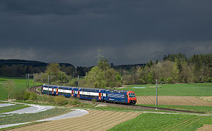 S3 (ZVV) - S3 service between Illnau and Fehraltorf.